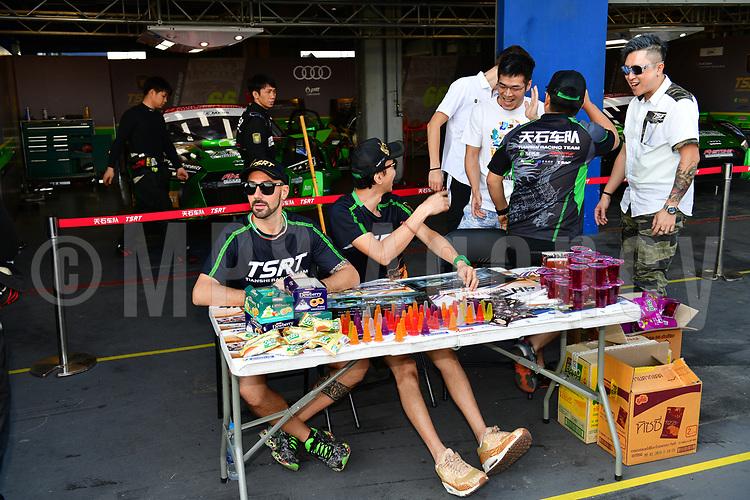 #66 TIANSHI RACING TEAM (CHN) AUDI R8 LMS GT LO KAI FUNG (MAC) MAX WISER (ITA) ZHANG YA QI (CHN)