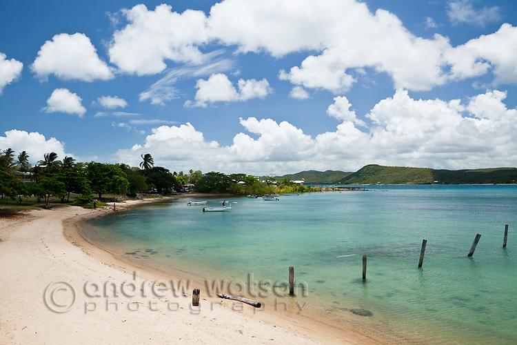 View of Bach Beach.  Thursday Island, Torres Strait Islands, Queensland, Australia
