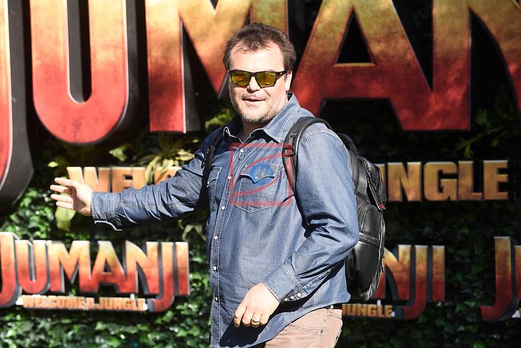 Europe Photo-Calls.<br /> JUMANJI: Welcome to the Jungle.<br /> Jack Black.