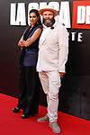 Actress Alba Flores and actor Darko Peric attend the photocall of presentation of the third season of serie 'La Casa de Papel'. July 11, 2019. (ALTERPHOTOS/Johana Hernandez)