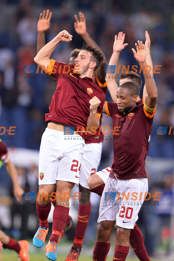 Alessandro Florenzi Roma.<br /> Roma 27-09-2014 Stadio Olimpico. Football Calcio 2014/2015 Serie A. AS Roma - Hellas Verona. Foto Antonietta Baldassarre / Insidefoto