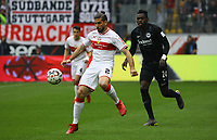 Emiliano Insua (VfB Stuttgart) gegen Danny da Costa (Eintracht Frankfurt) - 31.03.2019: Eintracht Frankfurt vs. VfB Stuttgart, Commerzbank Arena, DISCLAIMER: DFL regulations prohibit any use of photographs as image sequences and/or quasi-video.