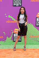 LOS ANGELES - July 13:  Cree Cicchino at the Nickelodeon Kids' Choice Sports Awards 2017 at the Pauley Pavilion on July 13, 2017 in Westwood, CA