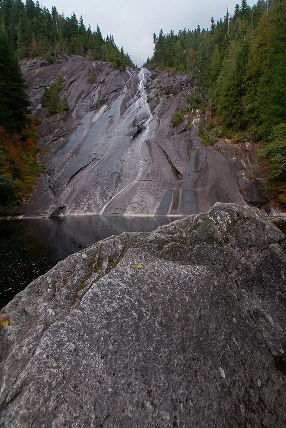 Otter Falls and Lipsy Lake, Taylor River Road, Mt. Baker Snoqualmie National Forest, Washington, US