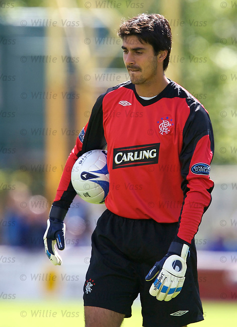 Lionel Letizi, Rangers.stock season 2006-2007.pic willie vass