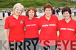 The Sneem Masters crew at the Caherdaniel regatta on Saturday pictured l-r; Teresa O'Sullivan, Heather Smith, Helen Foley & Marie O'Sullivan.