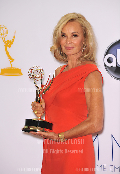 Jessica Lange at the 64th Primetime Emmy Awards at the Nokia Theatre LA Live..September 23, 2012  Los Angeles, CA.Picture: Paul Smith / Featureflash