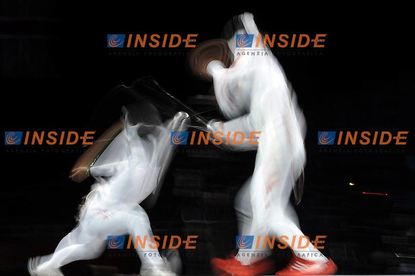 Ghosts/Fantasmi .Women Team EPEE .London 04-08-2012.Olympic Games Fencing London 2012 . Foto Giovanni Minozzi.