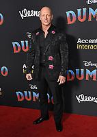 "11 March 2019 - Hollywood, California - Joseph Gatt. ""Dumbo"" Los Angeles Premiere held at Ray Dolby Ballroom. Photo Credit: Birdie Thompson/AdMedia"