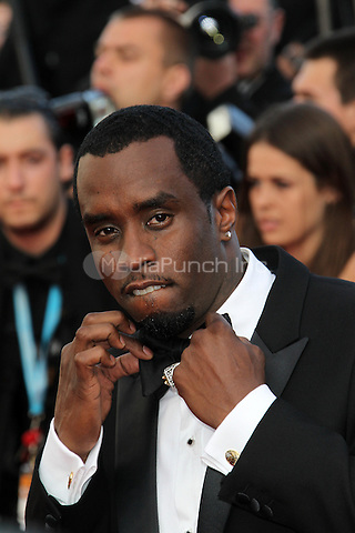 ../Sean Combs attend the 'Lawless' Premiere during the 65th Annual Cannes Film Festival at Palais des Festivals on May 19, 2012 in Cannes, France.  .. / Mediapunchinc