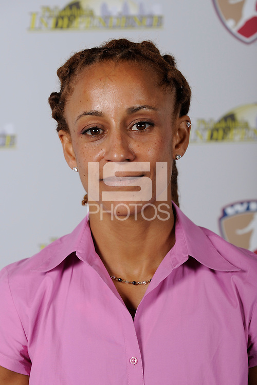 Philadelphia Independence Assistant Coach Staci Wilson on May 18, 2009.