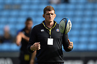 Stuart Hooper of Bath Rugby looks on prior to the match. Heineken Champions Cup match, between Wasps and Bath Rugby on October 20, 2018 at the Ricoh Arena in Coventry, England. Photo by: Patrick Khachfe / Onside Images