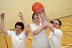 Basketball Players, Amanda McDonagh, Ashley Dowd and Eimear McAdam at the Launch of the Special Olympics Team....Photo NEWSFILE/Jenny Matthews.(Photo credit should read Jenny Matthews/NEWSFILE)....This Picture has been sent you under the condtions enclosed by:.Newsfile Ltd..The Studio,.Millmount Abbey,.Drogheda,.Co Meath..Ireland..Tel: +353(0)41-9871240.Fax: +353(0)41-9871260.GSM: +353(0)86-2500958.email: pictures@newsfile.ie.www.newsfile.ie.FTP: 193.120.102.198.