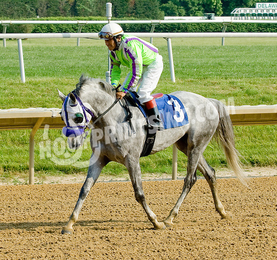 Ovour the Top winning at Delaware Park on 5/28/12