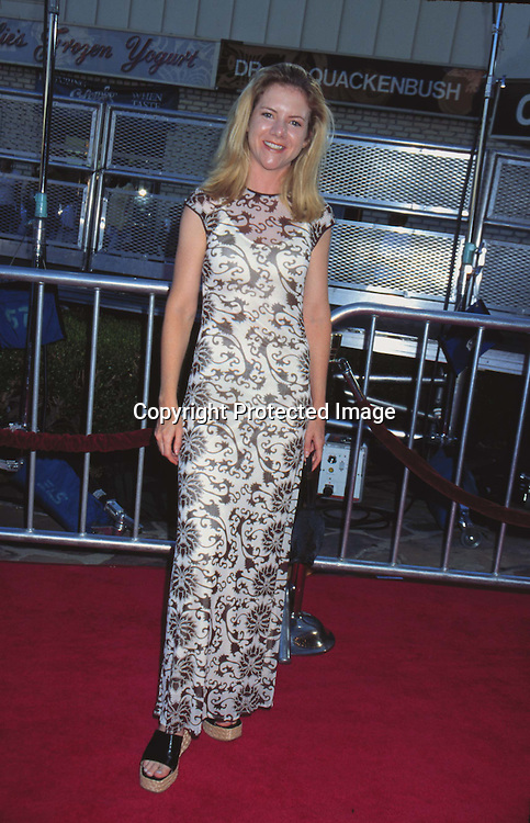 "©KATHY HUTCHINS/HUTCHINS.6/30/97 "" WILD AMERICA"" PREMIERE.JENNIFER ELISE COX "" SHE IS IN THE BRADY BUNCH MOVIES.PLAYS "" JAN BRADY"""