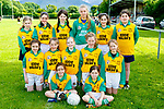 The Scoil Mhuire Knocknagoshel team that played in the Cumann na mbunscoil final in Beaufort on Thursday <br /> <br /> front row l-r: Hazel Murphy, Shannon Collins. Middle row Clodagh Collins, Robyn Cahill, Ella Killington, Grace Cahill, Jessica Collins, Back row: Mairead Mochan, Ella Muprphy, Katie Walsh, Orla O'Donoghue, Orla Duncan Ciara Cahill, Angel Miawright
