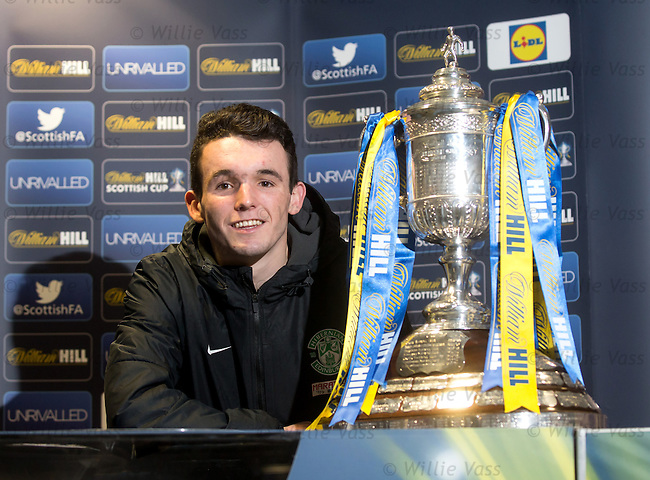 John McGinn with the Scottish Cup