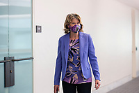 United States Senator Lisa Murkowski (Republican of Alaska) arrives to GOP policy luncheons on Capitol Hill in Washington D.C., U.S., on Tuesday, June 2, 2020.  Credit: Stefani Reynolds / CNP/AdMedia