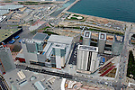 Aerial view of the Centre Conventions Barcelona Spain