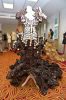 """01 February 2016 - Cologne, Germany - Annual show with high fashion created out of Lambertz's world famous chocolate: Preparations for the show """"DOLCE VITA"""" during LAMBERTZ MONDAY NIGHT 2016 in the Hotel Marriot. Photo Credit: Timm/face to face/AdMedia"""