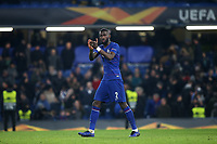 Antonio Rudiger of Chelsea applauds the home fans at the end of the match during Chelsea vs Malmo FF, UEFA Europa League Football at Stamford Bridge on 21st February 2019