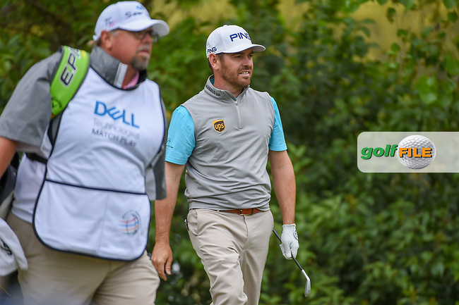 Louis Oosthuizen (RSA) watches his tee shot on 10 during day 4 of the WGC Dell Match Play, at the Austin Country Club, Austin, Texas, USA. 3/30/2019.<br /> Picture: Golffile   Ken Murray<br /> <br /> <br /> All photo usage must carry mandatory copyright credit (© Golffile   Ken Murray)