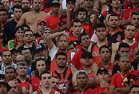 SAO PAULO SP, 01.09.2013 - Corinthians X Flamengo - Torcida  do Flamengo durante partida contra o Corinthians valida pelo campeonato brasleiro de 2013  no Estadio do Pacaembu em  Sao Paulo, neste domingo, 01. (FOTO: ALAN MORICI / BRAZIL PHOTO PRESS).