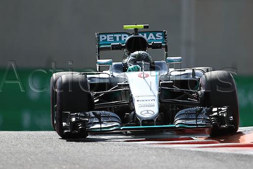 25.11.2016. Abu Dhabi, UAE. Formula 1 Grand Prix of Abu Dhabi. Free Practise.  Mercedes AMG Petronas W07 Hybrid – Nico Rosberg