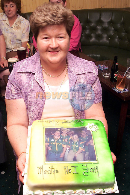 Nan Cudden who celebrated her 60th Birthday in Big Tom's, Duleek..Picture Paul Mohan Newsfile