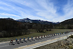Spectacular scenery during Stage 6 running 198km from Sisteron to Vence, France. 9th March 2018.<br /> Picture: ASO/Alex Broadway | Cyclefile<br /> <br /> <br /> All photos usage must carry mandatory copyright credit (&copy; Cyclefile | ASO/Alex Broadway)
