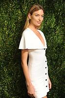 NEW YORK, NY - NOVEMBER 6: Martha Hunt at the 14th Annual CFDA Vogue Fashion Fund Gala at Weylin in Brooklyn, New York City on November 6, 2017. Credit: John Palmer/MediaPunch /NortePhoto.com