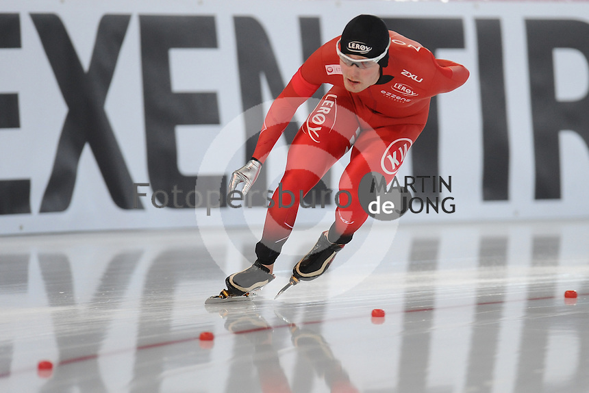 SPEED SKATING: HAMAR: Vikingskipet, 04-03-2017, ISU World Championship Allround, 5000m Men, Sverre Lunde Pedersen (NOR), ©photo Martin de Jong