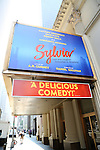 Theatre Marquee unveiling for the A. R. Gurney play 'Sylvia' directed Daniel Sullivan and starring Matthew Broderick, Julie White, Robert Sella, and Annaleigh Ashford at the Cort Theatre on September 3, 2015 in New York City.