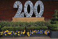 Signage celebrating the Bicentenary of Lord's ahead of Middlesex CCC vs Essex CCC, Specsavers County Championship Division 1 Cricket at Lord's Cricket Ground on 23rd April 2017