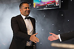 © Joel Goodman - 07973 332324 . 03/03/2016 . Manchester , UK .  Team of the Year winner - Private Client , VAQAS FAROOQ (obo Slater and Gordon Lawyers ) (centre) . The Manchester Legal Awards from the Midland Hotel . Photo credit : Joel Goodman