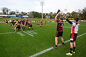 Counties Manukau Under 85kg Championship final rugby game between Papakura and Pukekohe played at Navigation Homes Stadium Pukekohe, on Saturday August 10th 2019. Pukekohe won the game 13 - 12 after leading 10 - 0 at halftime.<br /> Photo by Richard Spranger.