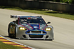 08 August 2008: The Bell Motorsports Aston Martin DBR 9, driven by Terry Borcheller (USA) and Chapman Ducole (USA), at the Generac 500  at Road America, Elkhart Lake, Wisconsin, USA.