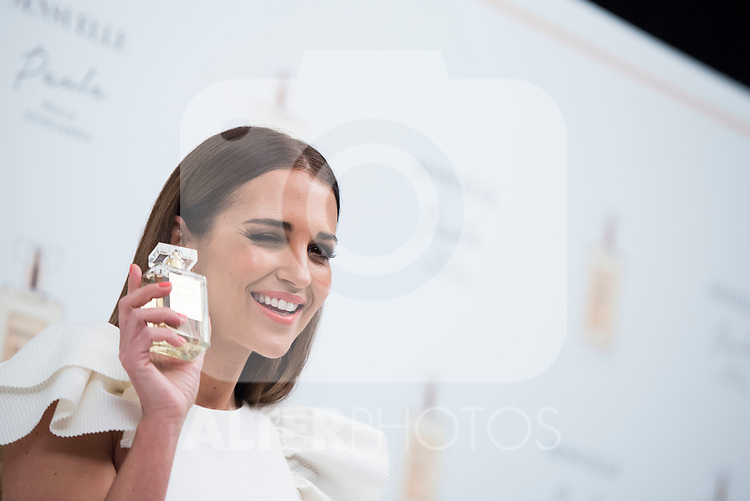 Paula Echevarria during the presentation of her new fragrance &quot;Sensuelle&quot; in Madrid, April 05, 2017. Spain.<br /> (ALTERPHOTOS/BorjaB.Hojas)