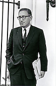 Portrait of Doctor Henry A. Kissinger taken in Washington, D.C. on April 9, 1969.  At the time, Kissinger was National Security Advisor to United States President Richard M. Nixon.<br /> Credit: White House via CNP