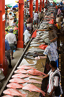 Seychelles, Island Mahe, capital Victoria: Sir Selwyn Selwyn-Clarke Market - fish market