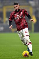 Theo Hernandez of AC Milan <br /> Milano 09/02/2020 Stadio San Siro <br /> Football Serie A 2019/2020 <br /> FC Internazionale - AC Milan <br /> Photo Andrea Staccioli / Insidefoto
