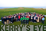 DRIVE: many of the members of Tralee Golf Club who showed up to watch the capts drive in on Sunday..........