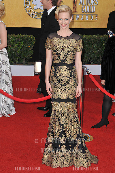 January Jones at the 17th Annual Screen Actors Guild Awards at the Shrine Auditorium..January 30, 2011  Los Angeles, CA.Picture: Paul Smith / Featureflash