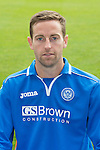 St Johnstone FC 2013-14<br /> Steven MacLean<br /> Picture by Graeme Hart.<br /> Copyright Perthshire Picture Agency<br /> Tel: 01738 623350  Mobile: 07990 594431