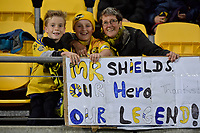 Hurricanes Fans during the Super Rugby - Hurricanes v Lions at Westpac Stadium, Wellington, New Zealand on Saturday 5 May 2018.<br /> Photo by Masanori Udagawa. <br /> www.photowellington.photoshelter.com