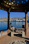 along Mutrah's famous corniche, beneath the balconied windows of old merchant houses, Muscat