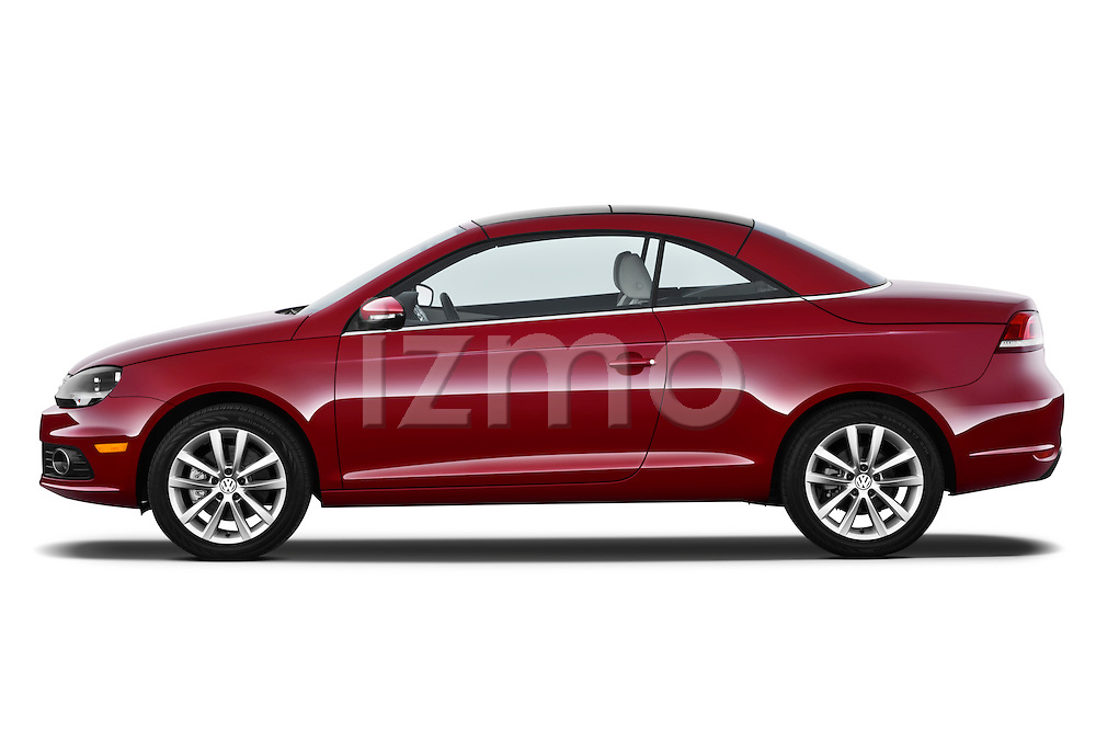 Passenger side profile view of a 2012 Volkswagen EOS Komfort.