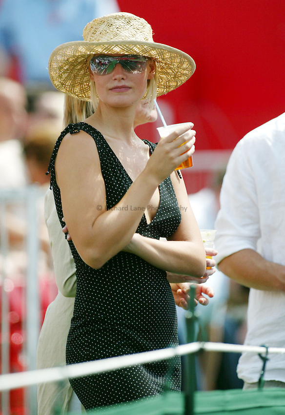 Photograph: Scott Heavey..Final of the Stella Artois Championship at the Queens Club. 15/06/2003..A tennis fan