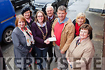 The sum of €850 was donated to the Tralee branch of the Saint Vincent de Paul by Soroptimist International of Tralee and District, funds raised from the Mounthawk Bridge night five weeks ago. Pictured were; Angela Deenihan, Joan Ivers, Karen Ivers Keohane (President of Soroptimists), Christy Lynch (SVdP), Junior Locke, Mena Nolan and Máire Baily.