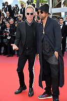 Sting &amp; Shaggy at the closing gala screening for &quot;The Man Who Killed Don Quixote&quot; at the 71st Festival de Cannes, Cannes, France 19 May 2018<br /> Picture: Paul Smith/Featureflash/SilverHub 0208 004 5359 sales@silverhubmedia.com